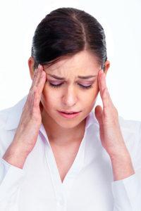 concussion vision problems